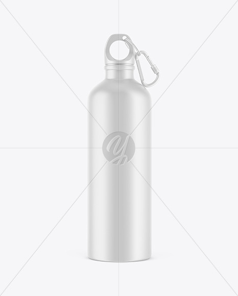 Matte Water Bottle Mockup