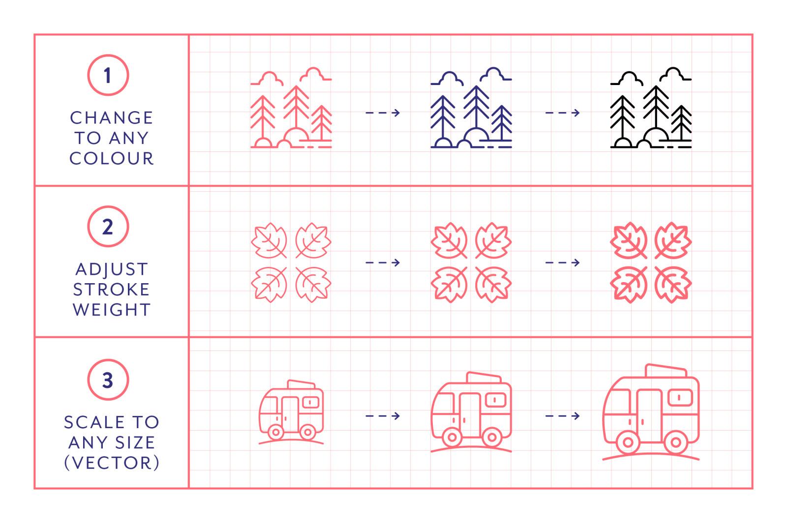 Line Icons – Park