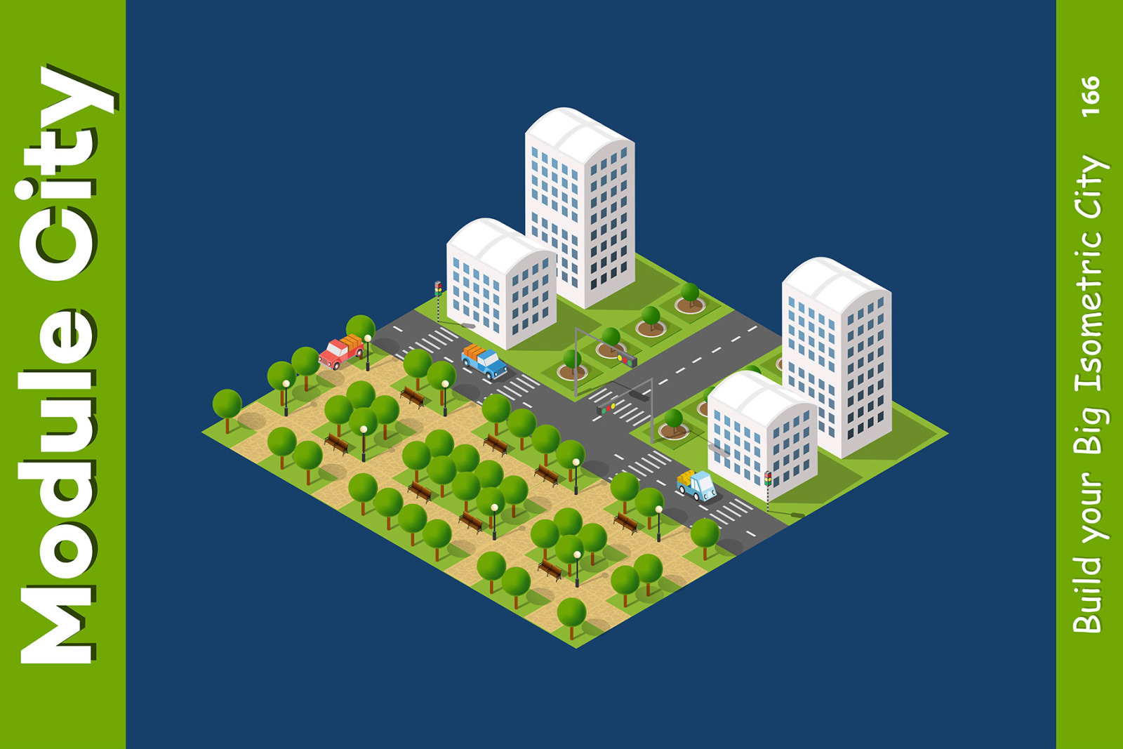 City isometric constructor