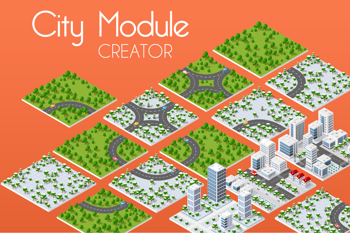 City bundle module city set