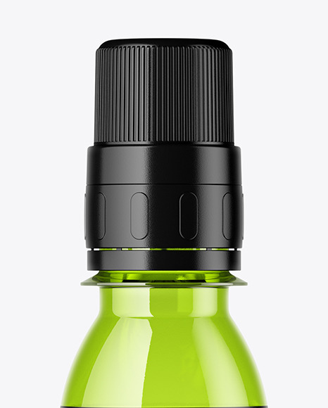 Glass Medicine Bottle Mockup