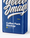 Glossy Coffee Pack Mockup