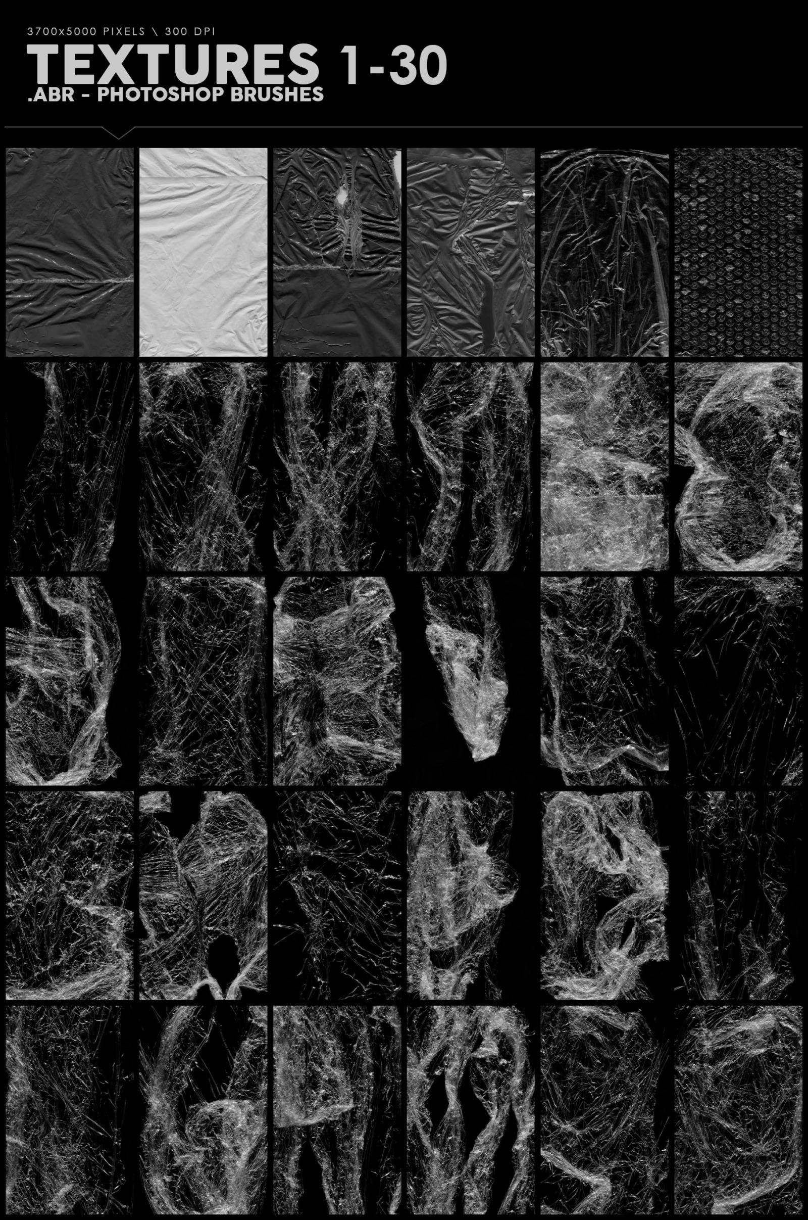 198 Plastic Photoshop Brushes