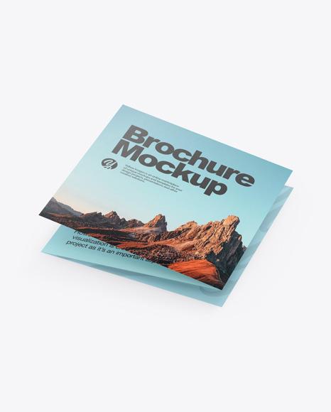 Paper Brochure Mockup