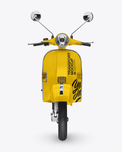Scooter Mockup