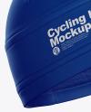 Cycling Hat Mockup - Half Side View