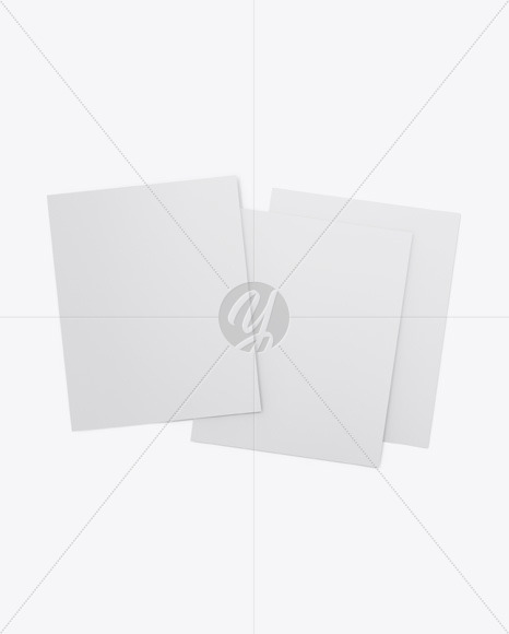 Three Papers Mockup