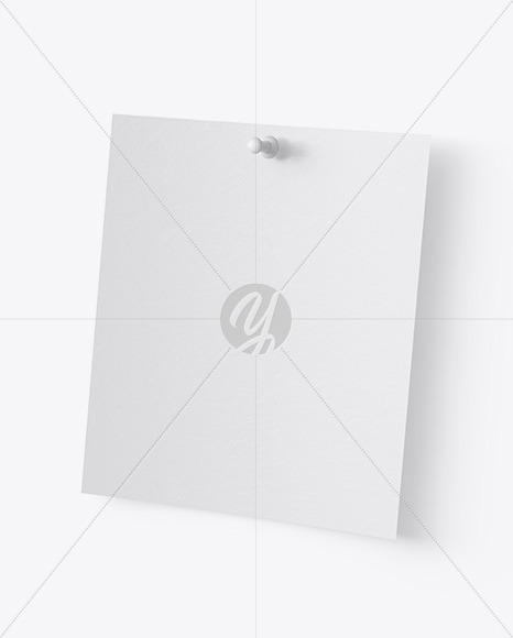 Textured Snapshot w/ Pin Mockup