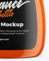 Sauce Bottle Mockup