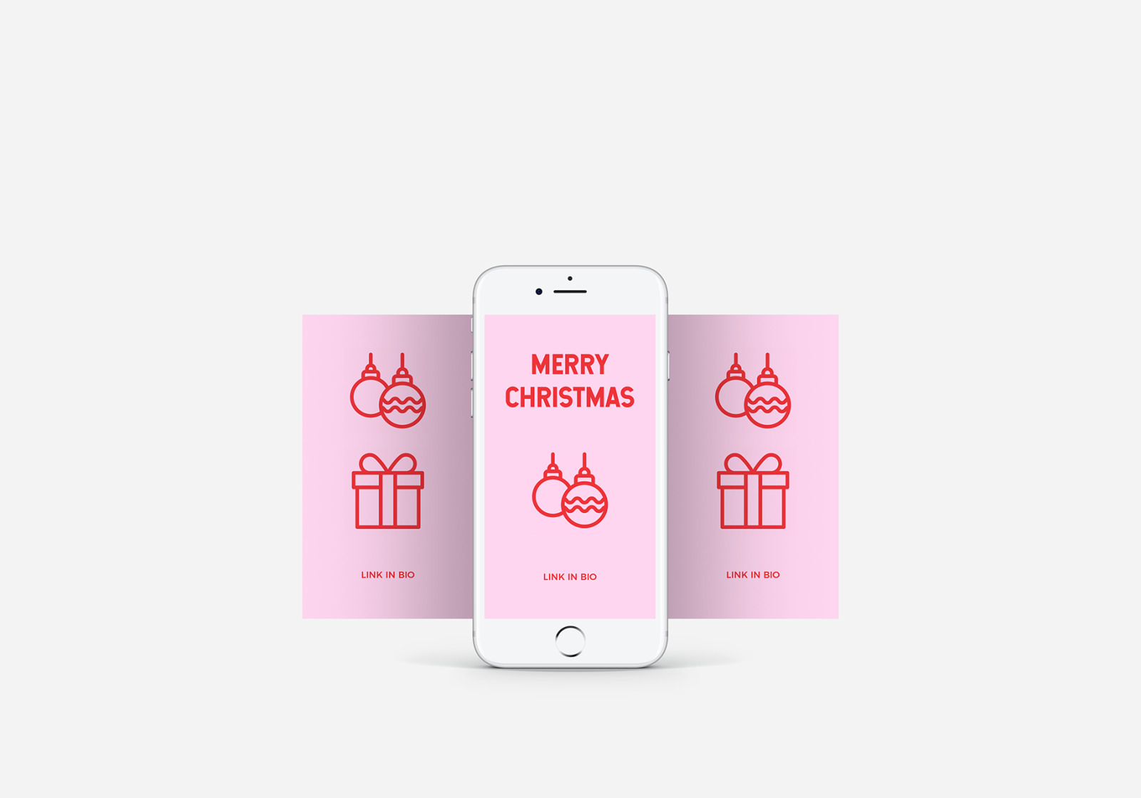 Merry Christmas | Line icons Vector