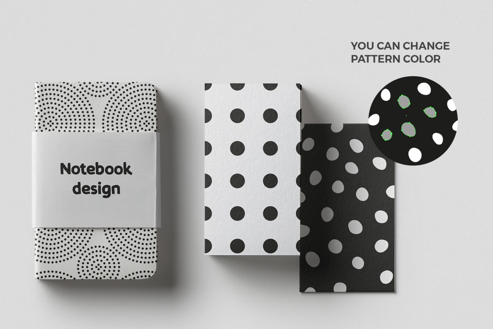 Polka Dots Seamless Patterns