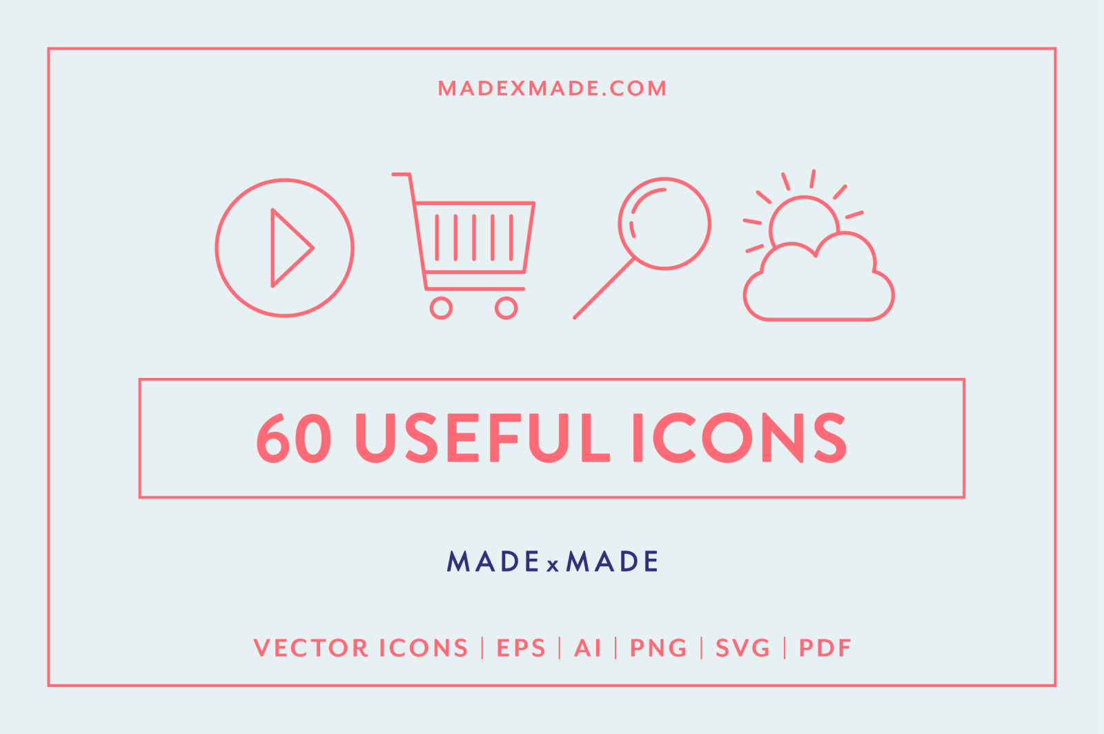 Line Icons – Useful Line Icons