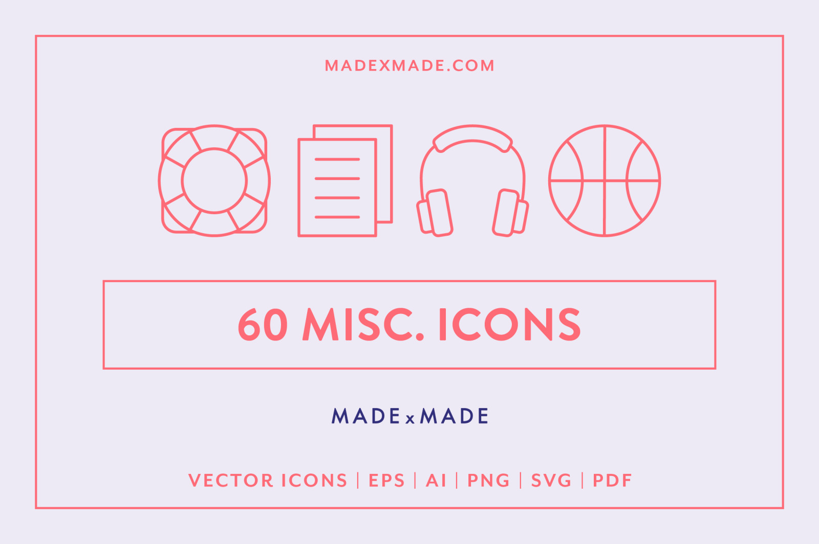 Line Icons – Miscellaneous Icons