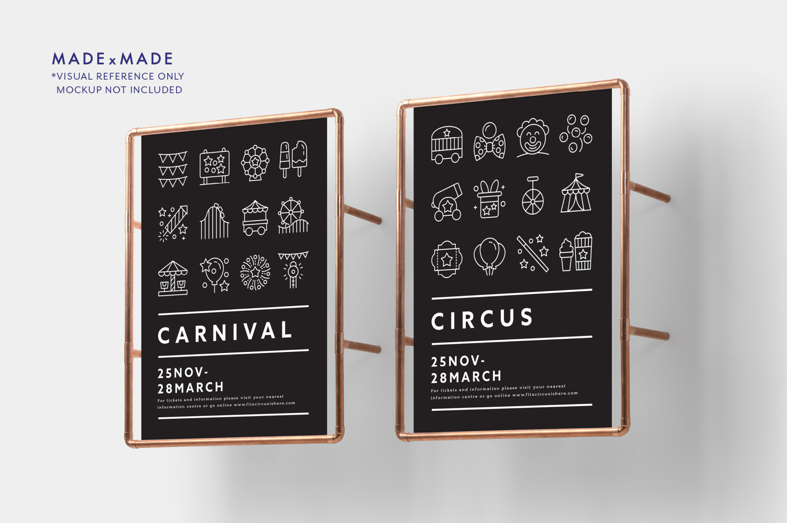 Line Icons – Carnival