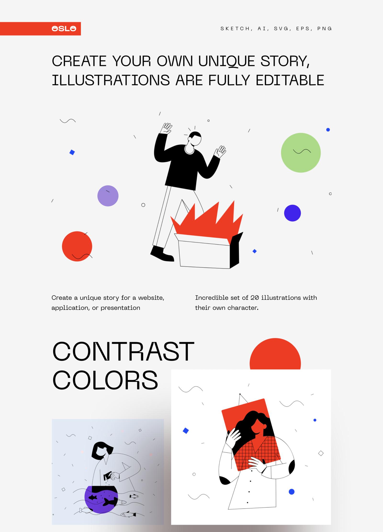 OSLO Illustrations