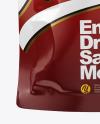 Energy Drink in Glossy Sachet Mockup