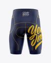 Men's Cycling Shorts Mockup
