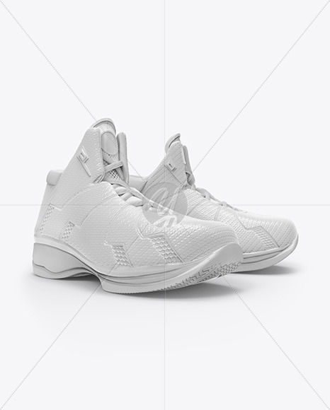 Basketball Sneakers Mockup