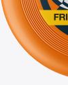 Matte Frisbee Mockup