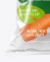 Plastic Bag With Carrots Mockup