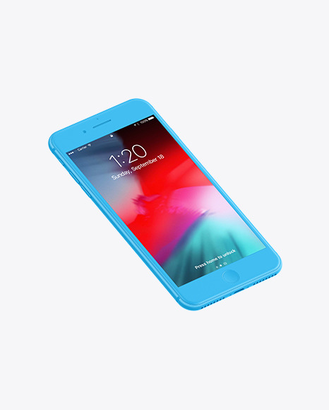 Clay Apple Iphone 7 Plus Mockup