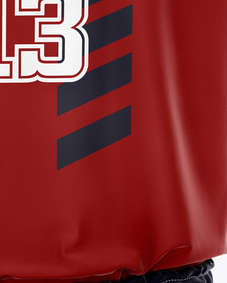 Basketball Uniform Mockup - Front View