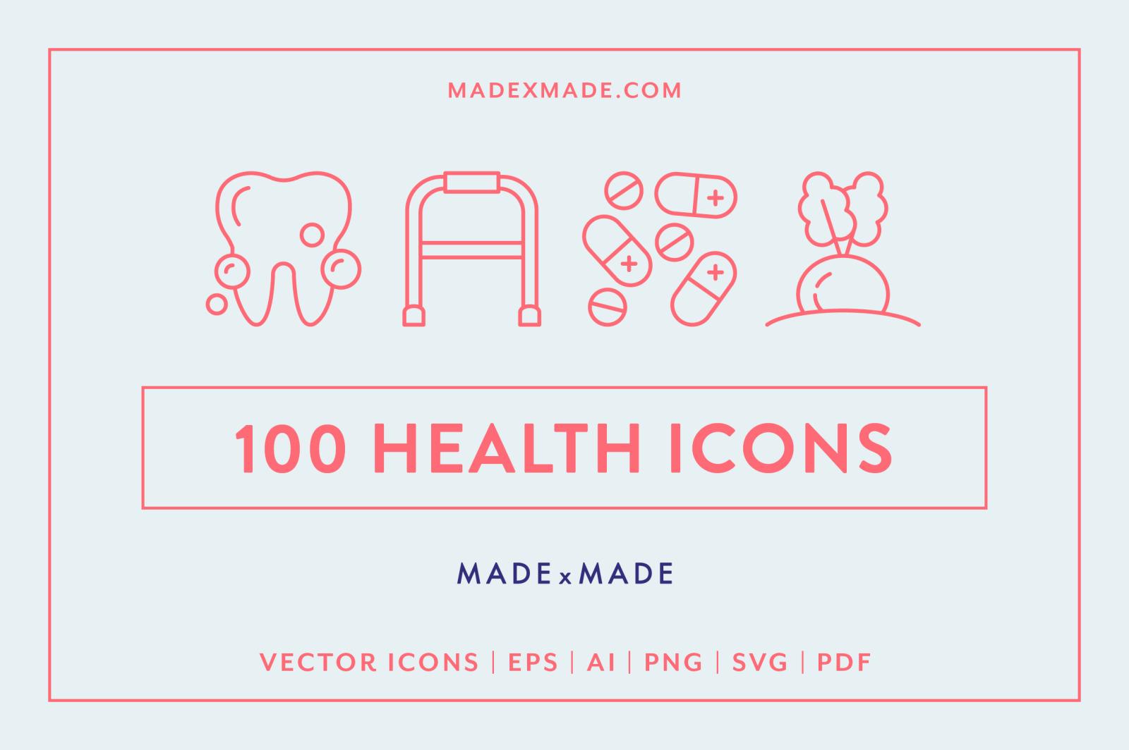 Line Icons – Health