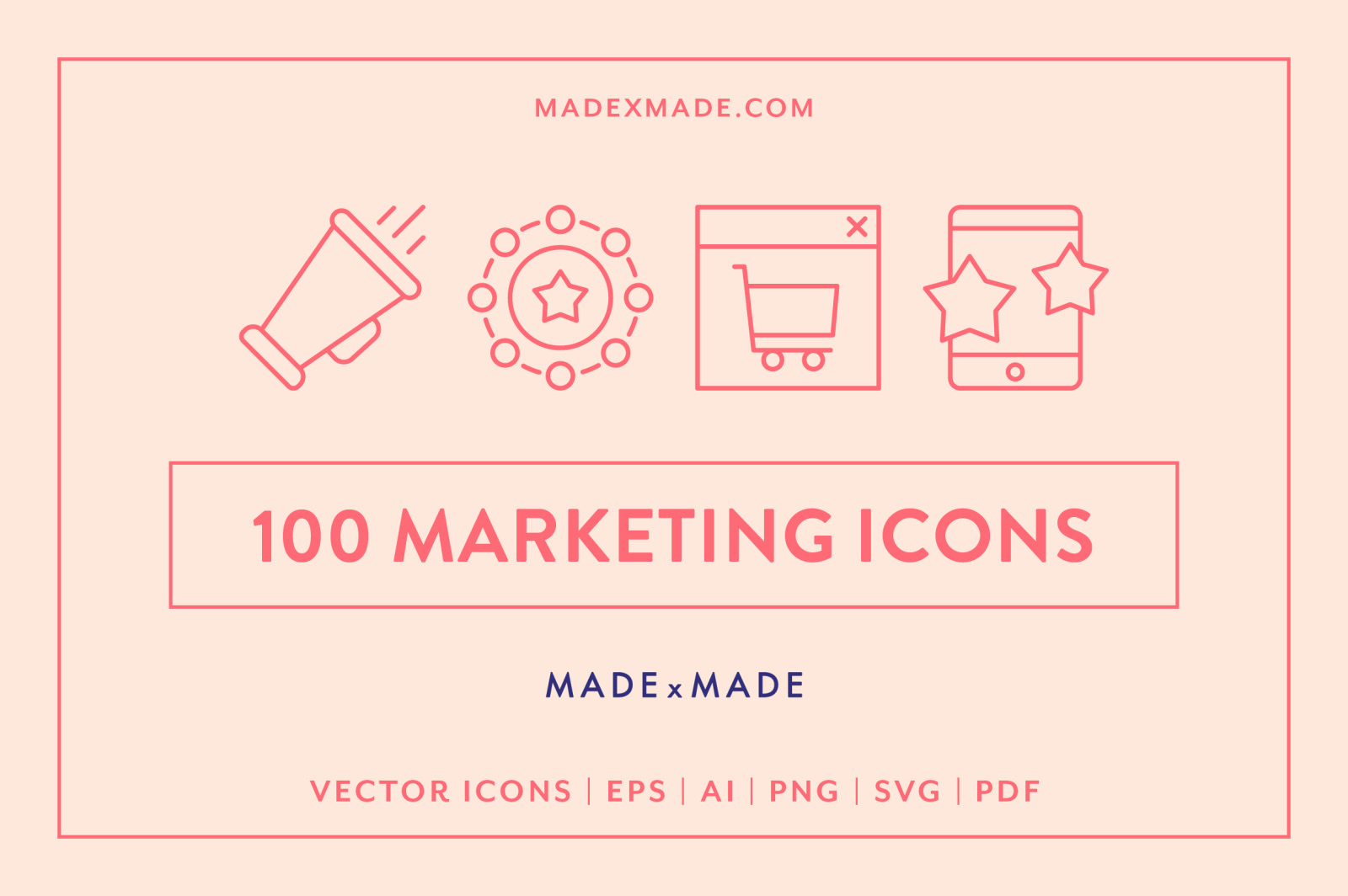 Line Icons – Marketing