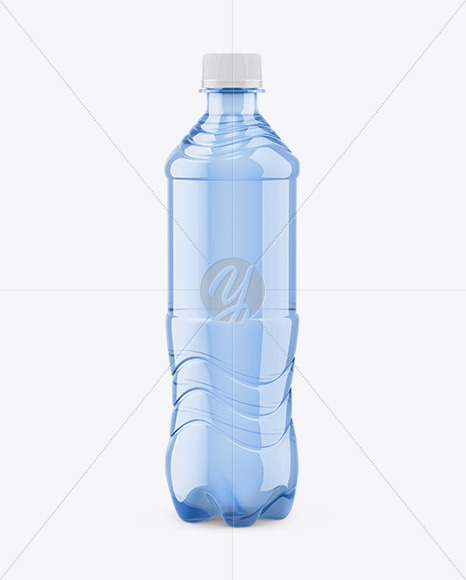 Download Plastic Bottle With Still Water Mockup In Bottle Mockups On Yellow Images Object Mockups PSD Mockup Templates