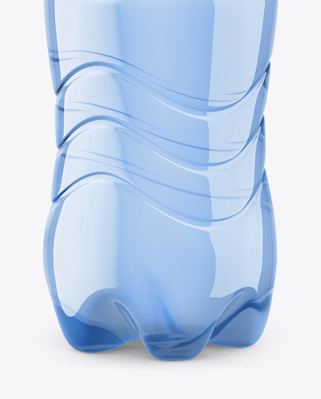 Plastic Bottle With Still Water Mockup