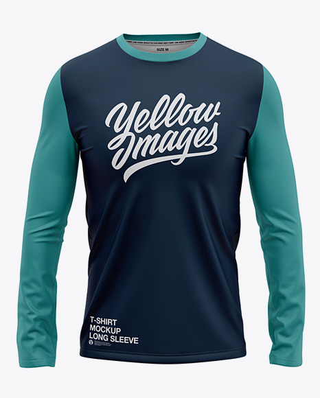 Men's Long Sleeve T-Shirt - Front View