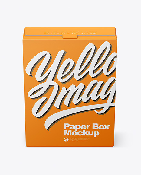 Download Paper Box PSD Mockup