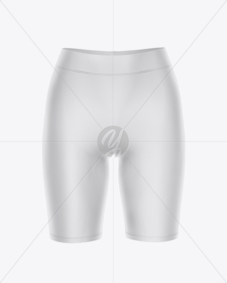 Women's Leggings Shorts - Front View