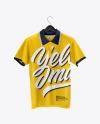 Polo Shirt on Hanger Mockup