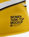 Women's Tank Top Mockup