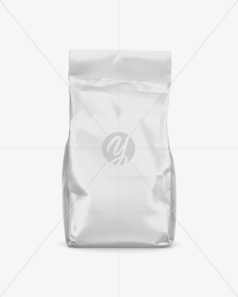 Matte Food Bag Mockup - Front View