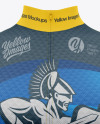 Women's Cycling Wind Vest Mockup