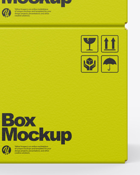 Paper Boxes Mockup