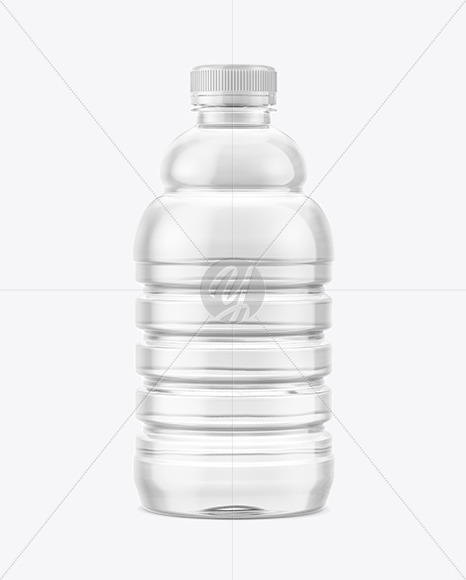 Water Bottle with Condensation Mockup