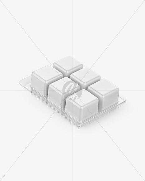 Wax Tarts Plastic Pack Mockup