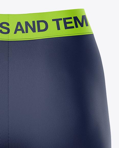 Women's Leggings Shorts - Back View