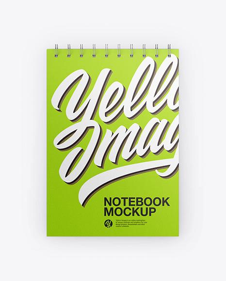 Download Paper Notebook PSD Mockup