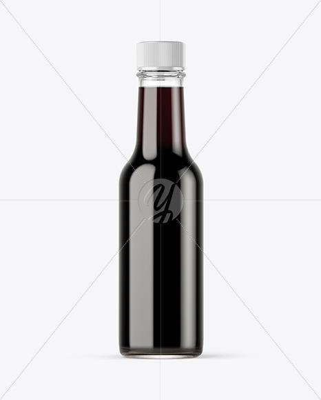 Soy Sauce Bottle Mockup