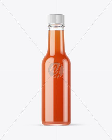 Hot Sweet'n'Sour Sauce Bottle Mockup