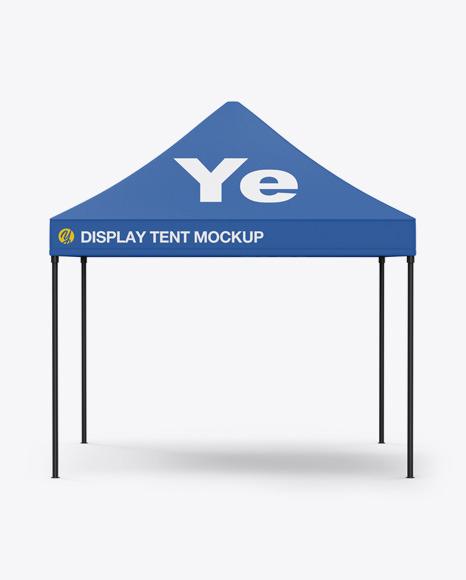 Download Display Tent PSD Mockup
