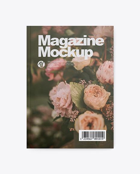 Download Matte Magazine PSD Mockup