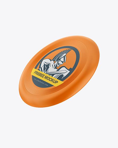 Download Matte Frisbee PSD Mockup