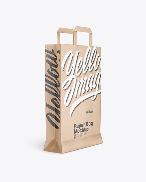 Download Paper Bag PSD Mockup