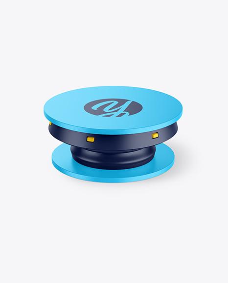 Download Matte Phone Pop Grip PSD Mockup