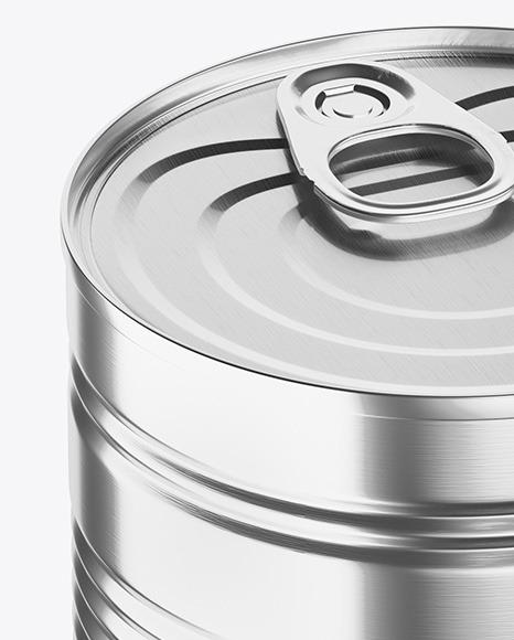 Download Metallic Food Can Mockup PSD - Free PSD Mockup Templates